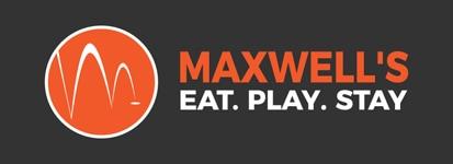 logo for maxwells golf retreat
